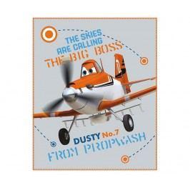Pléd Disney Planes Aircraft 110x140 cm