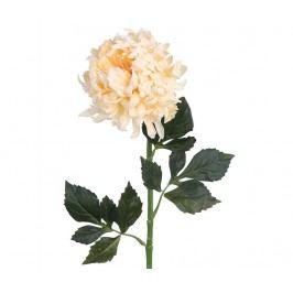 Umělá květina Chrysanthemum Cream