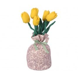 Dveřní zarážka Yellow Tulips