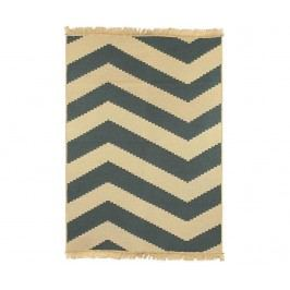 Kobereček Zigzag Blue 60x90 cm