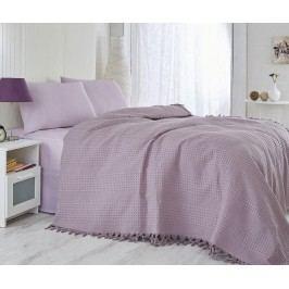 Přehoz Pique Jesse Purple 220x240 cm