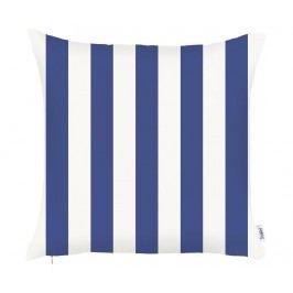 Povlak na polštář Stripes Blue 43x43 cm