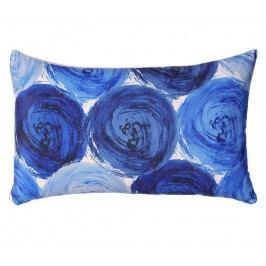 Dekorační polštář Blue Holes 30x50 cm
