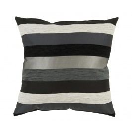 Dekorační polštář Motegi Black 45x45 cm