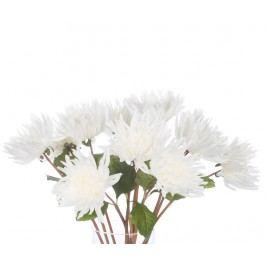 Sada 12 umělých květin Dalia White