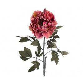 Umělá květina Peonia Rose