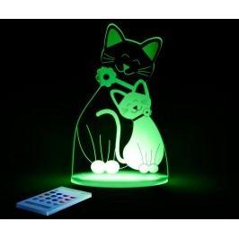 Dětská noční lampička Cat