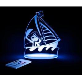 Dětská noční lampička Pirate