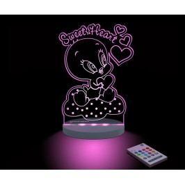 Dětská noční lampička Baby Looney Tunes Tweety