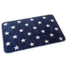 Koupelnová předložka Stars Blue 45x70 cm