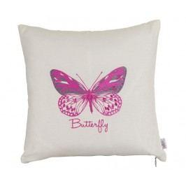 Povlak na polštář Pink Butterfly 41x41 cm
