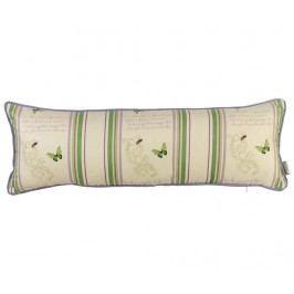 Dekorační polštář Butterfly Green 25x70 cm