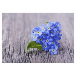 Koberec Purple Flower 52x75 cm
