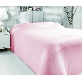 Přehoz Pique Simply Pink 200x240 cm