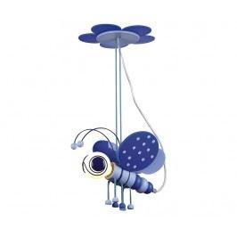 Závěsná lampa Butterfly Blue