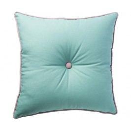 Dekorační polštář Malva Aqua 45x45 cm