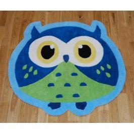 Koberec Owl Blue 80x80 cm