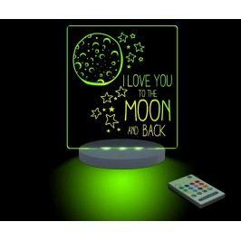 Dětská noční lampička Moon & Back