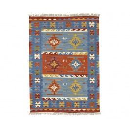 Koberec Kilim Macario Blue 75x125 cm