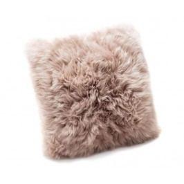 Dekorační polštář Fluffy Light Brown 45x45 cm