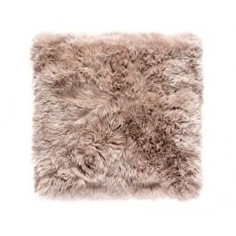 Koberec Gayle Square Light Brown 70x70 cm