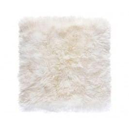 Koberec Gayle Square White 70x70 cm