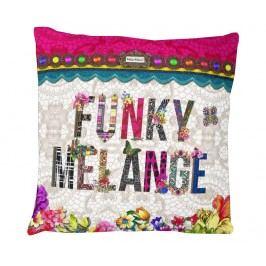 Povlak na polštář Funky Melange 50x50 cm