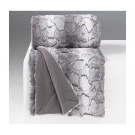 Pléd Siberie Grey 127x152 cm