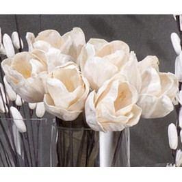 Sada 12 umělých květin Tulipan