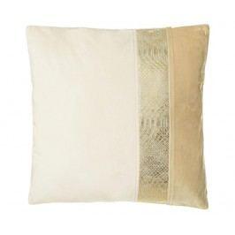 Dekorační polštář Gold Snake Skin 45x45 cm
