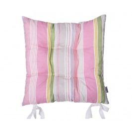 Polštář na sezení Pink Lines 37x37 cm