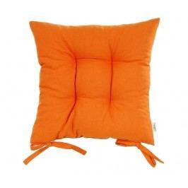 Polštář na sezení Thoughts Orange 41x41 cm