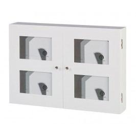 Kryt na elektroměr s fotorámečky White