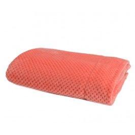 Pléd Checkered Coral 130x170 cm
