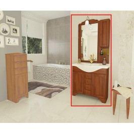Třídílná sada nábytku do koupelny Cinzia Noce