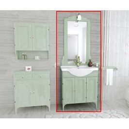 Třídílná sada nábytku do koupelny Daria Green