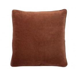 Dekorační polštář Velvet Copper 45x45 cm