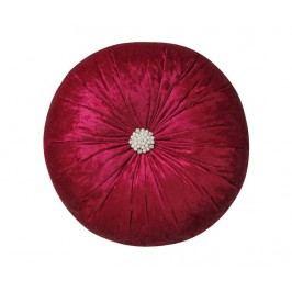 Dekorační polštář Elegant Bordeaux 38 cm