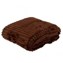 Pléd Rayas Chocolate 125x170 cm