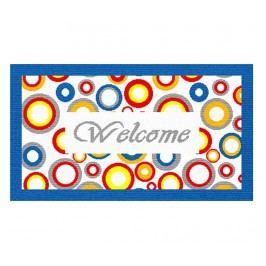 Vchodová rohožka Welcome Circles 40x70 cm