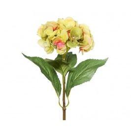 Umělá květina Hydrangea Yellow