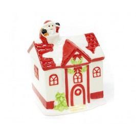 Nádoba s víkem House Santa Claus