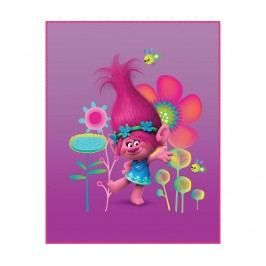 Pléd Trolls Poppy 110x140 cm