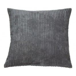 Dekorační polštář Corduroy Grey 45x45 cm