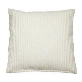 Dekorační polštář Corduroy White 45x45 cm