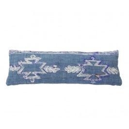 Dekorační polštář Giunchiglia Long Blue 30x90 cm