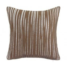 Dekorační polštář London Brown 45x45 cm