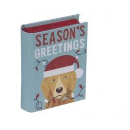 Krabice ve tvaru knihy Season Greetings