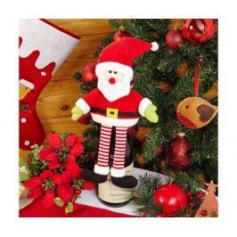 Dekorace na sklo Santa