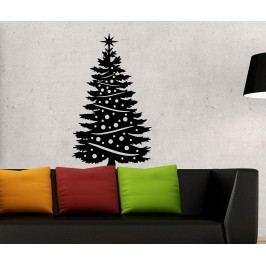 Samolepka Majestic Christmas Tree M